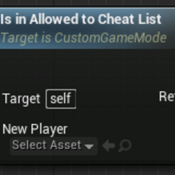 Is in Allowed to Cheat List