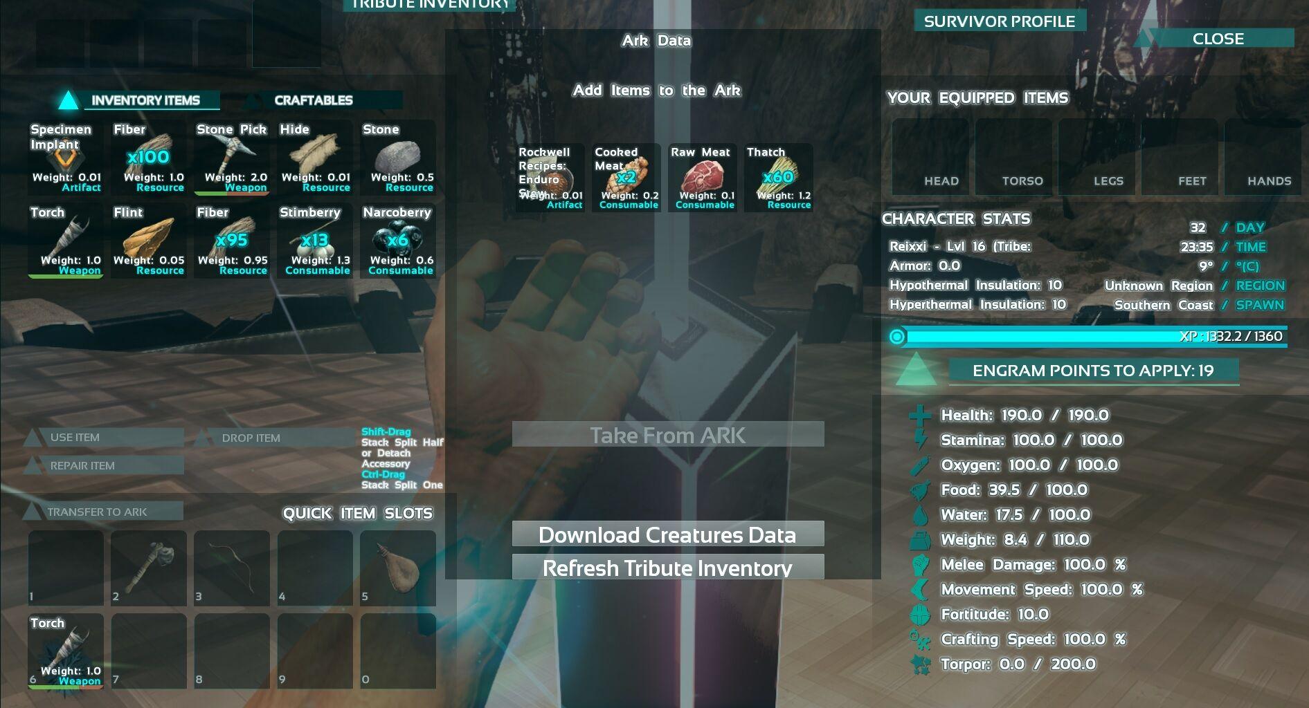 Einstellen prägung nitrado ark server Dinos Schneller