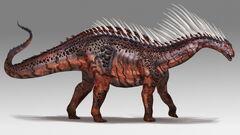 Mod ARK Additions Amargasaurus concept art.jpg