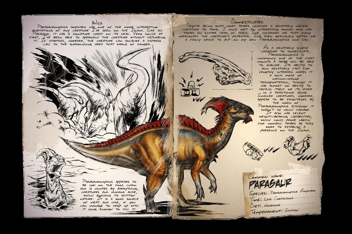 Parasaur Official Ark Survival Evolved Wiki
