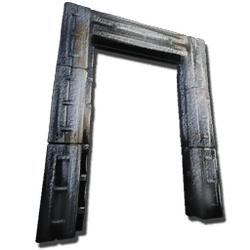 Cadre de Dino-Porte en métal