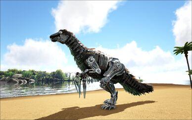 Mod Ark Eternal Eternal Robot Therizinosaur Image.jpg