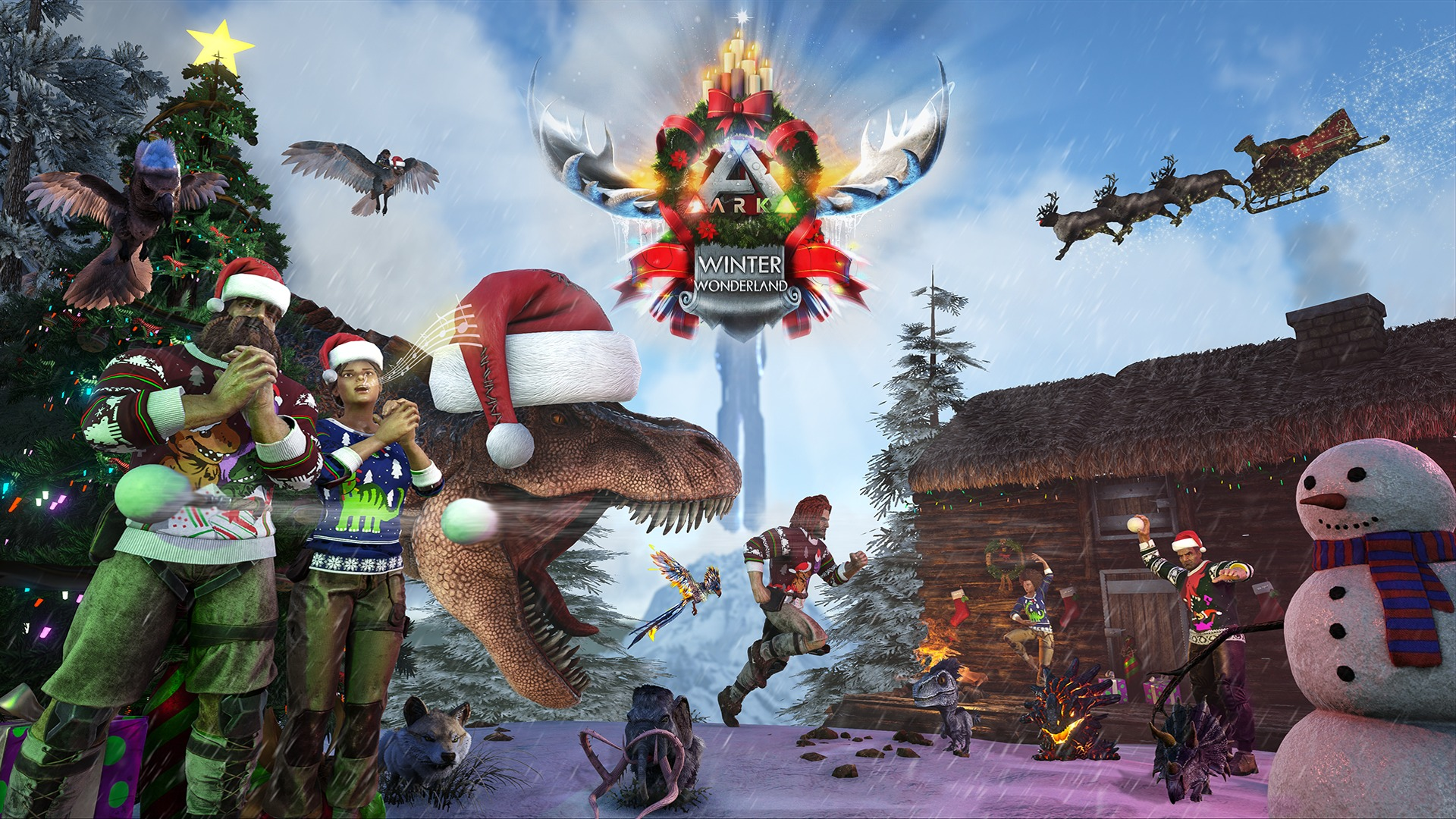 ARK: Winter Wonderland 4   Official ARK: Survival Evolved Wiki
