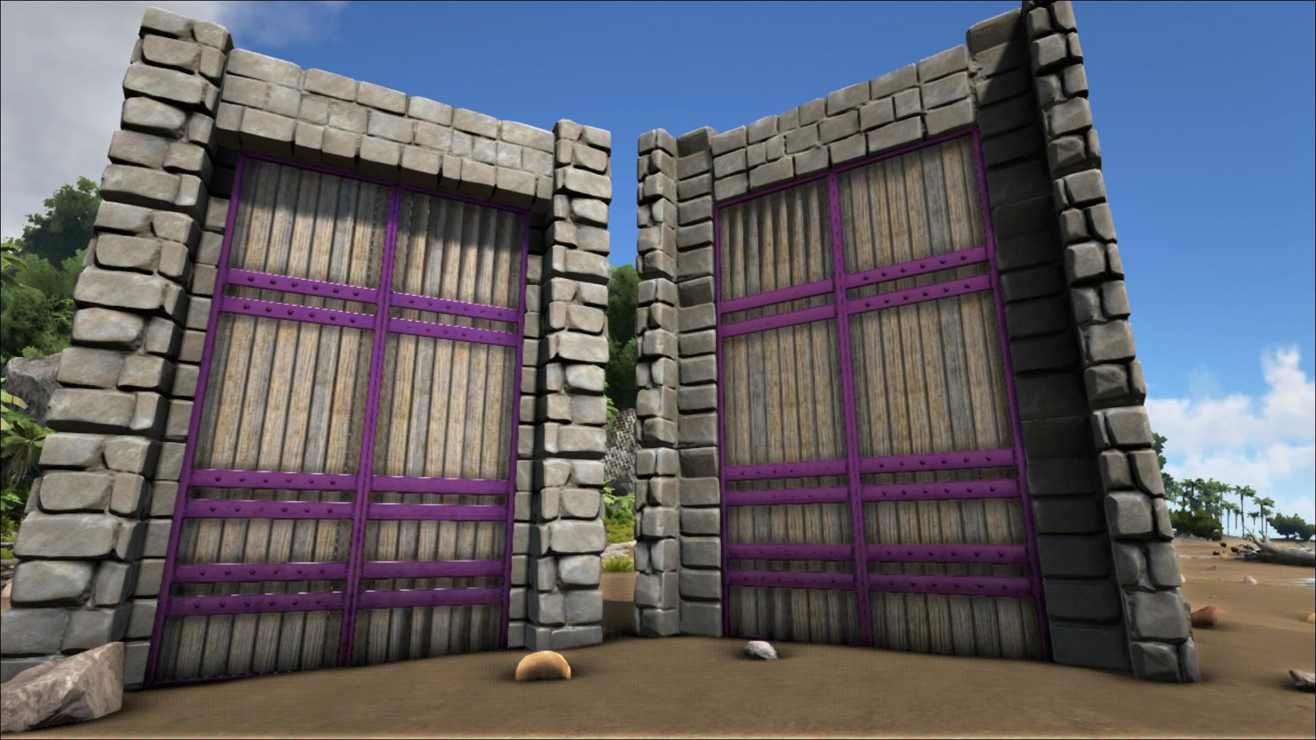 Region 1 Region 2 ... & Reinforced Dinosaur Gate - Official ARK: Survival Evolved Wiki Pezcame.Com