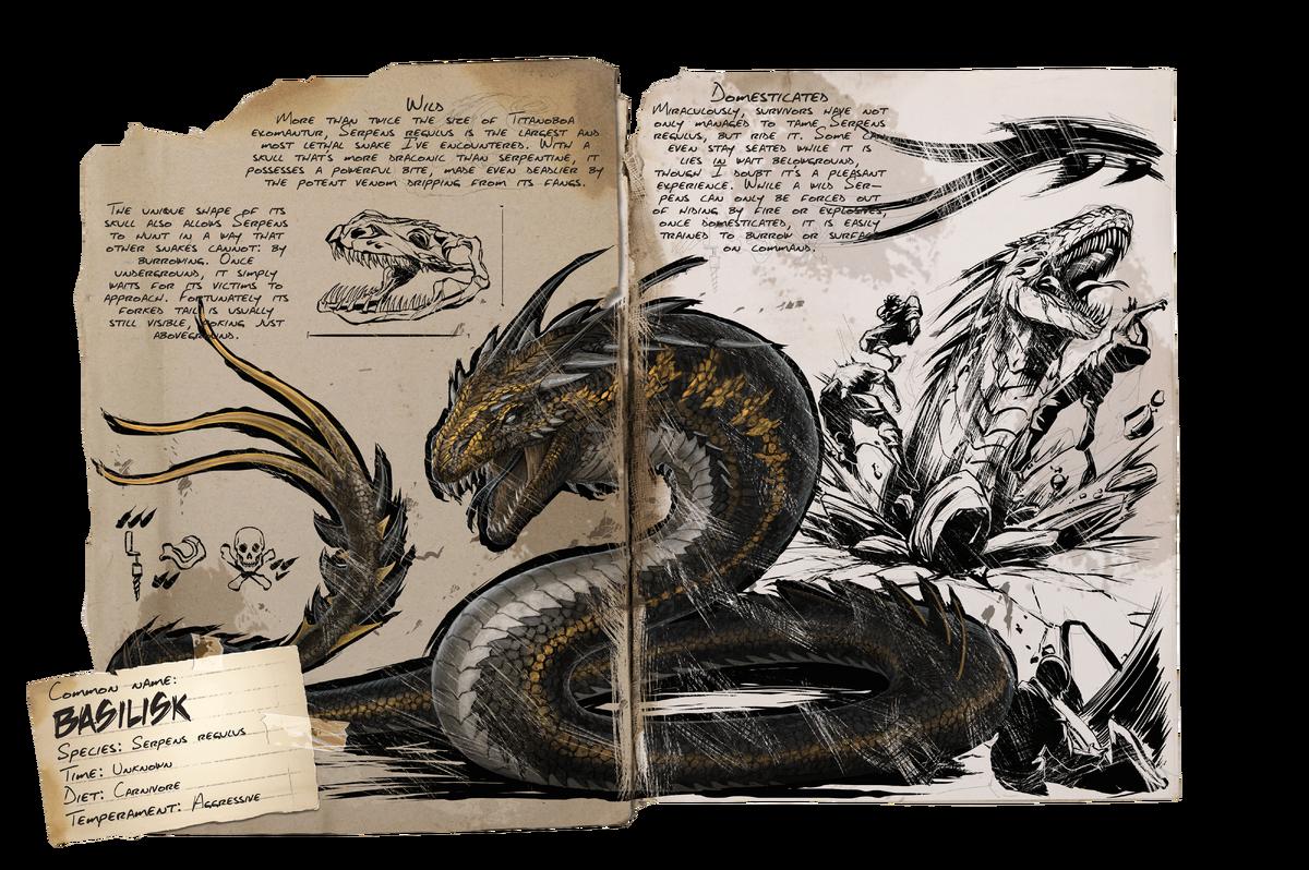 Basilisk Official Ark Survival Evolved Wiki