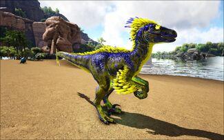 Mod Ark Eternal Elemental Lightning Raptor Image.jpg