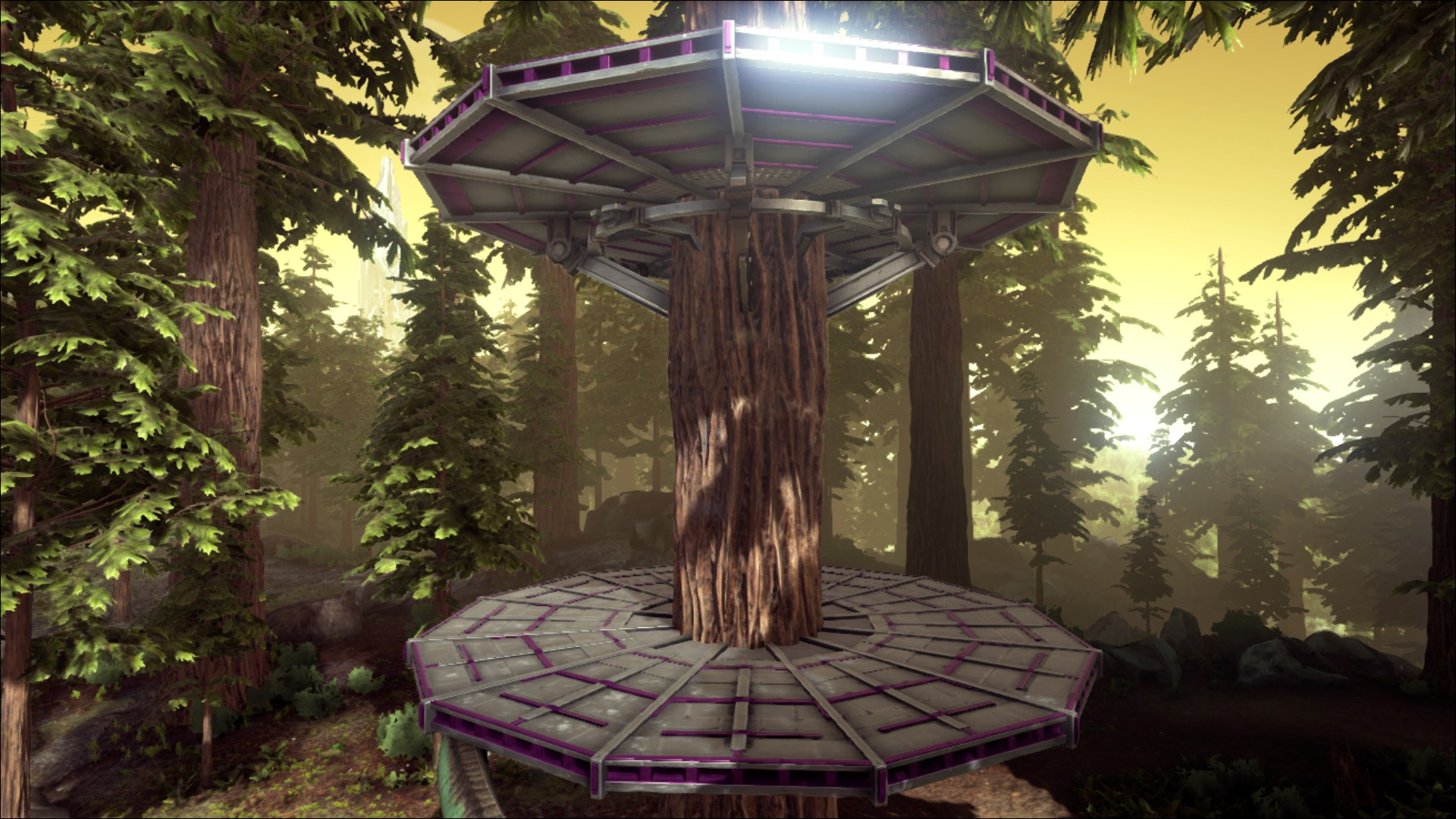 Metal Tree Platform Official Ark Survival Evolved Wiki