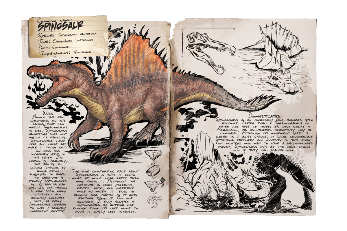 Spino Official Ark Survival Evolved Wiki
