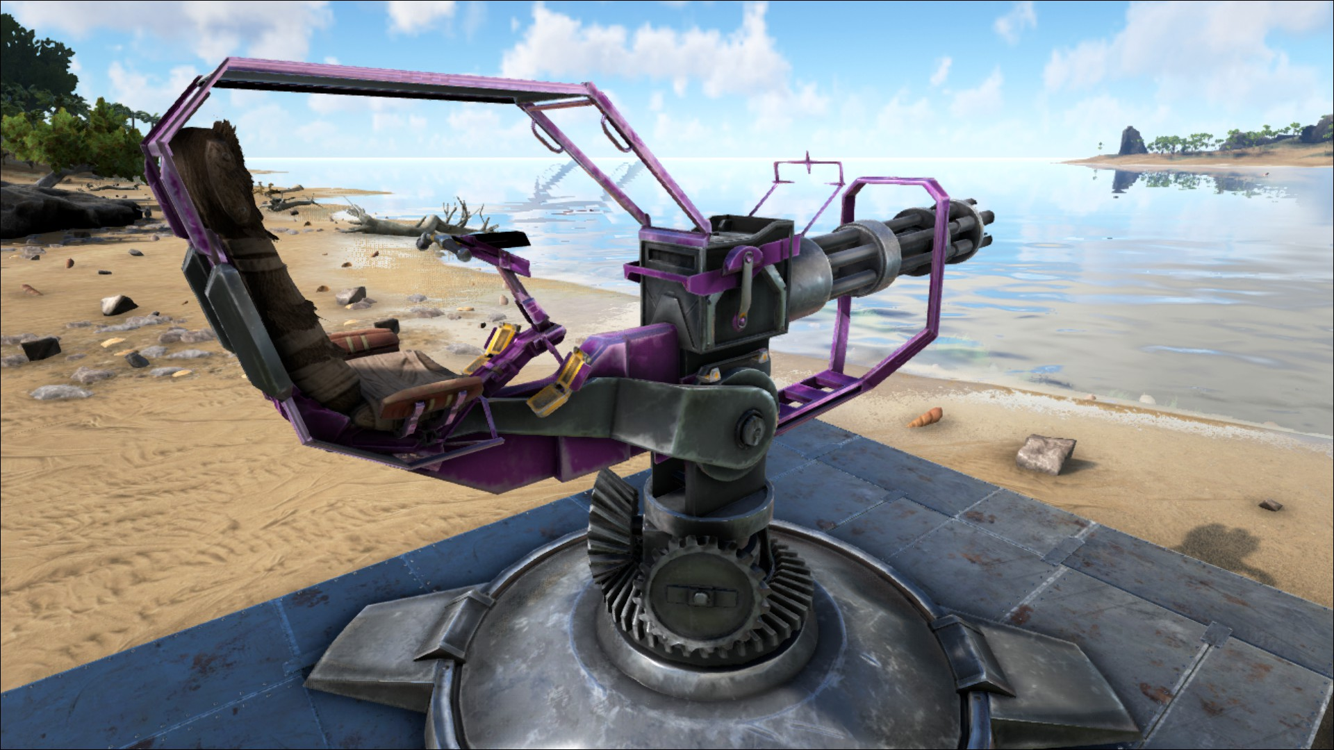 Minigun Turret Official Ark Survival Evolved Wiki