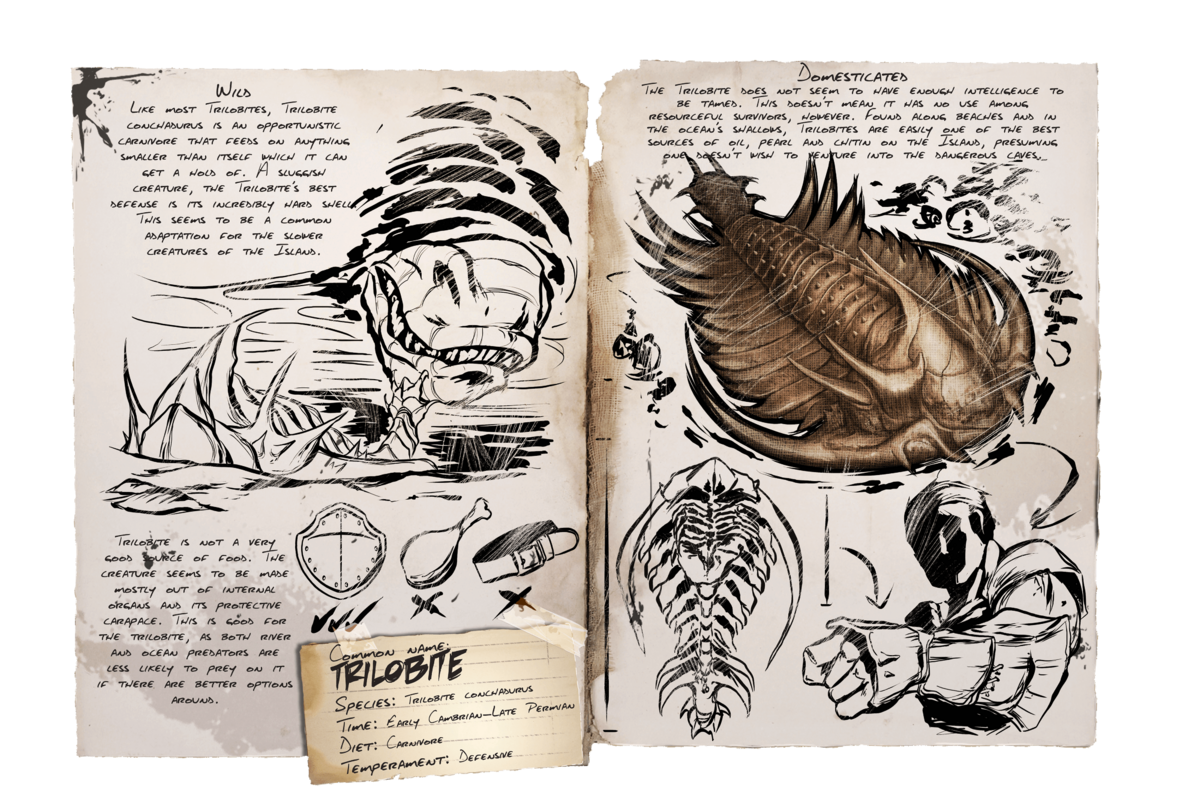 Trilobite Official Ark Survival Evolved Wiki Sadly the island is a pain to get black pearls. ark survival evolved wiki
