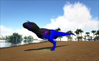 Mod Ark Eternal Elemental Lightning Corrupted Carnotaurus Image.jpg