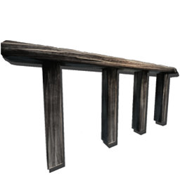 Wooden Railing Official Ark Survival Evolved Wiki
