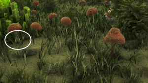Giftiger roter Pilz