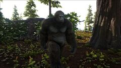 Gigantopithecus in the Redwood Forest.jpg