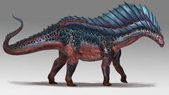 Mod ARK Additions Amargasaurus concept art 2.jpg