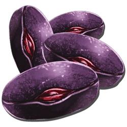 Semilla de baya morada