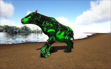 Mod Ark Eternal Elemental Poison Corrupted Chalicotherium Image.jpg