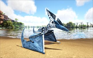 Mod Ark Eternal Elemental Ice Pteranodon (Wild) Image.jpg