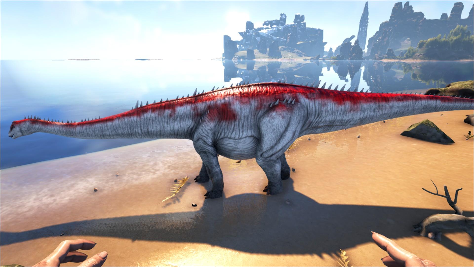 Diplodocus Official Ark Survival Evolved Wiki