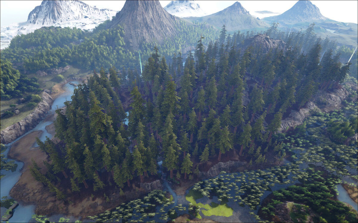 Picture of: The Redwood Forests Official Ark Survival Evolved Wiki