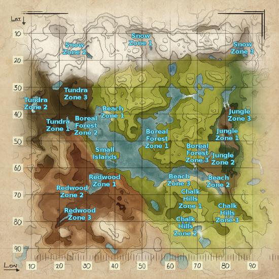 Valguero Spawn Location Map.png