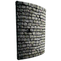 Curved Stone Battlement (Mobile).png