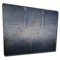 Mur en métal