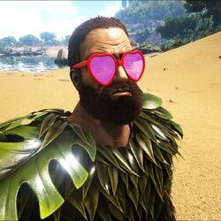 Heart-shaped Sunglasses Skin