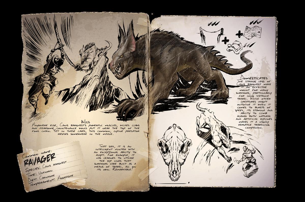 Ravager Official Ark Survival Evolved Wiki