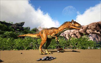 Mod Ark Eternal Cursed Elemental Allosaurus (Wild) Image.jpg
