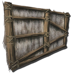 Thatch Wall Official Ark Survival Evolved Wiki