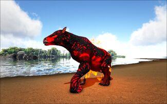 Mod Ark Eternal Elemental Fire Corrupted Chalicotherium Image.jpg