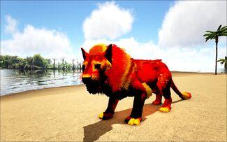 Mod Ark Eternal Elemental Fire Lion Male Image.jpg
