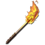 Flèche enflammée