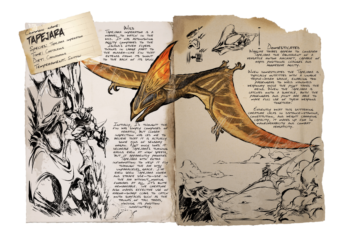 Tapejara Official Ark Survival Evolved Wiki In this ark survival evolved how to tame a tapejara i will show you two methods for taming the tapejara in ark survival. ark survival evolved wiki