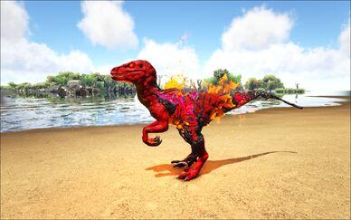 Mod Ark Eternal Elemental Corrupted Fire Raptor Image.jpg