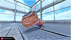 Chibi Party Rex in game.png
