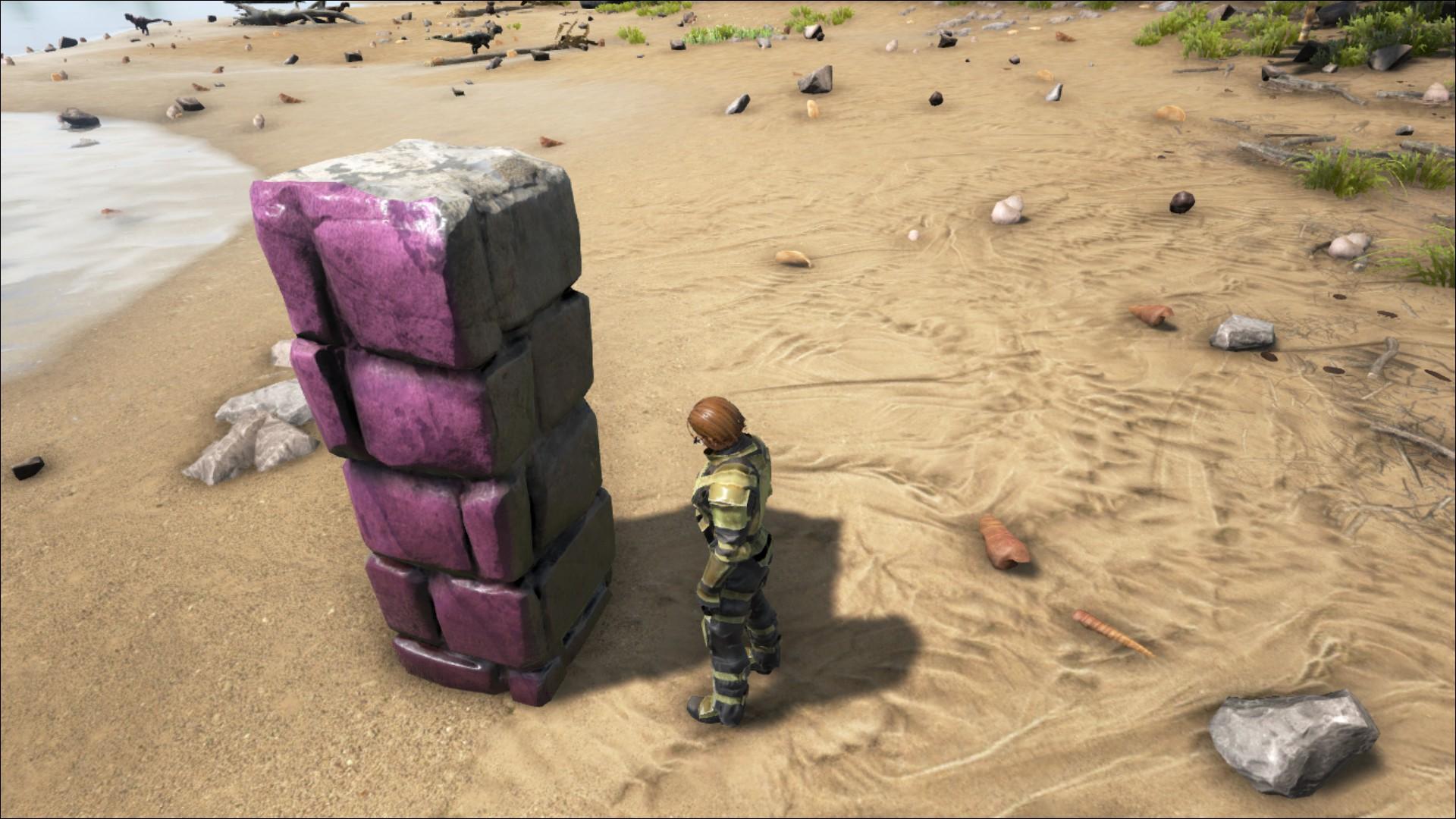 Stone Pillar Official Ark Survival Evolved Wiki