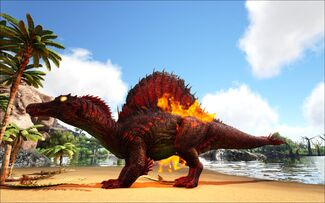 Mod Ark Eternal Elemental Fire Spinosaur Image.jpg