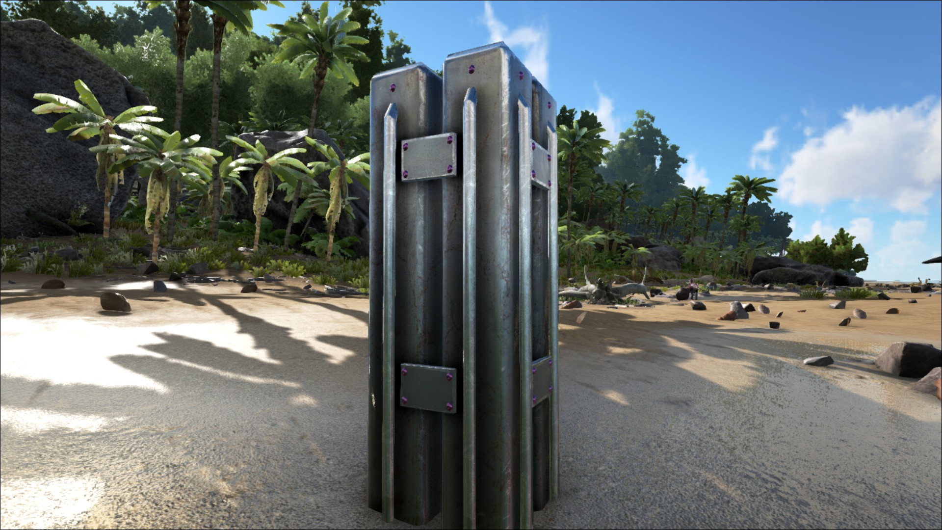 Metal Building Pillar : Metal pillar official ark survival evolved wiki