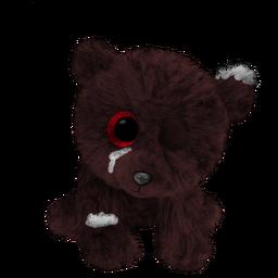 Worn Evil Cuddle Bear (Mobile).png