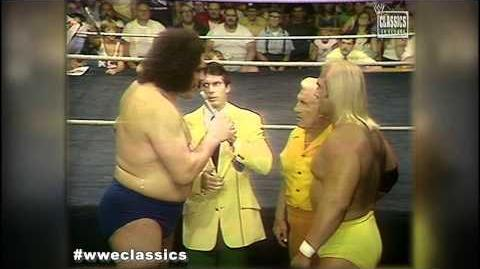 WWE Classics- Andre The Giant meets Hulk Hogan