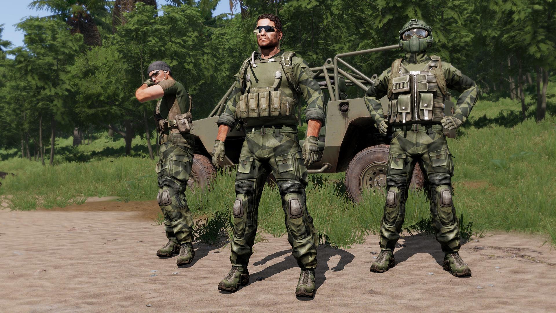 CTRG Stealth Uniform