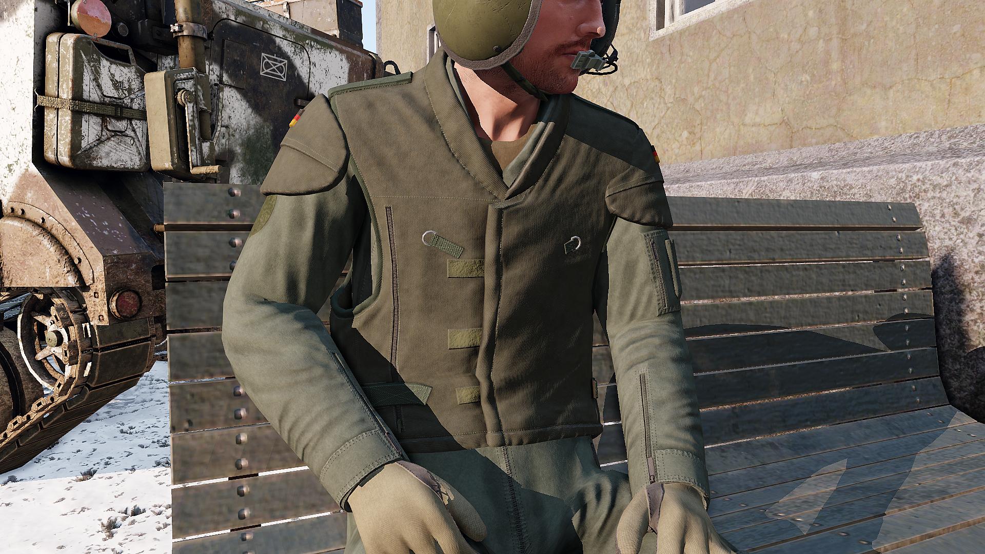 Ballistic Vest, Pilot (West Germany)