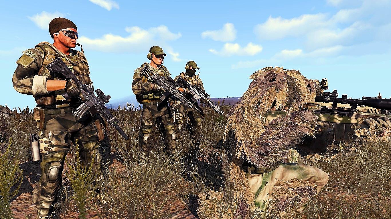 CTRG Combat Uniform