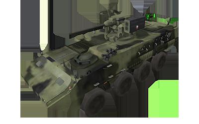 Pandur II 8x8 CZ