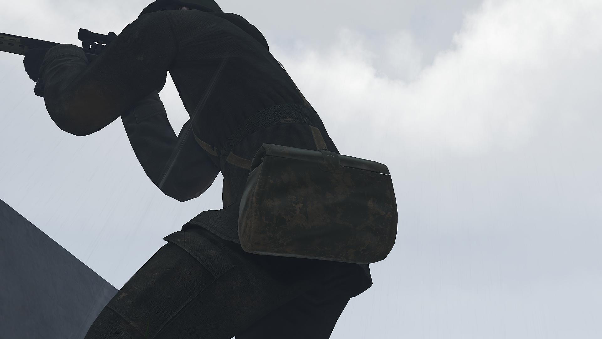 Gasmask-bag (vest)