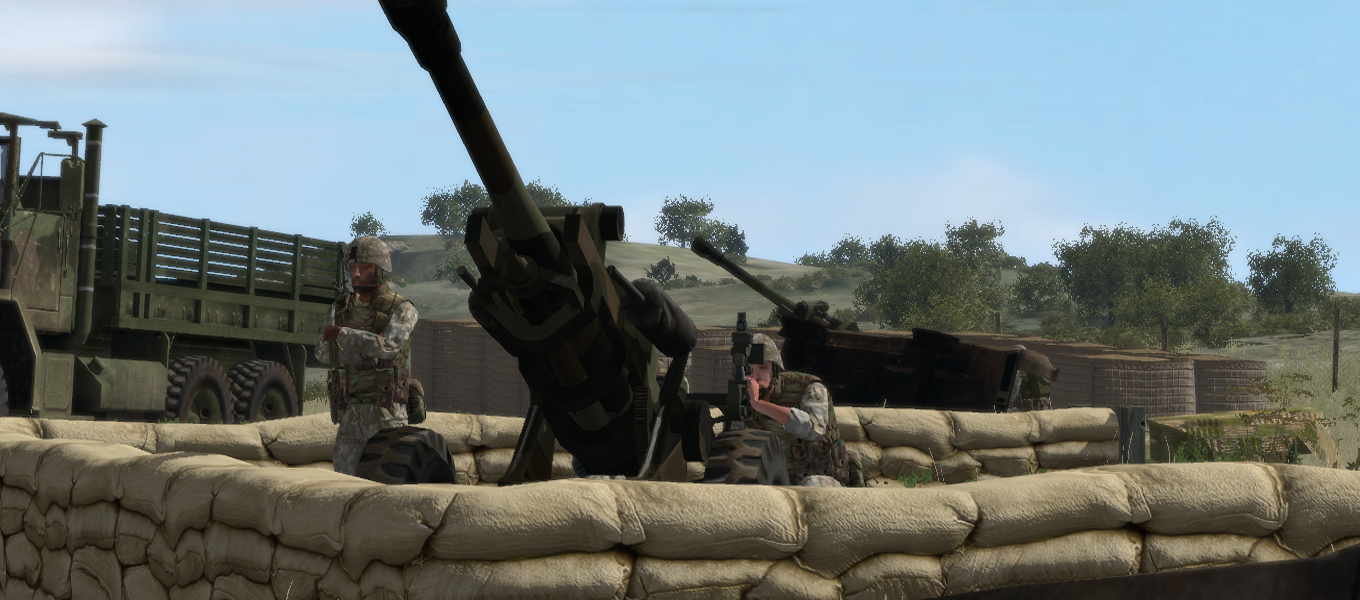 M119-A1 howitzer