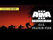Arma 3 Creator DLC- S.O.G. Prairie Fire - Update 1