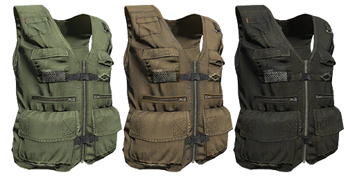 Multi-Pocket Vest
